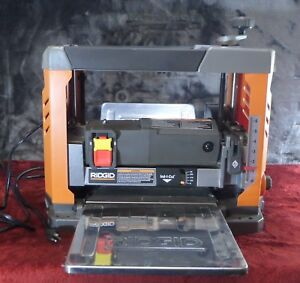 Ridgid R4331 13 In Corded Thickness Planer Used 293