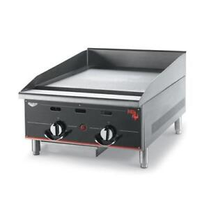Vollrath 924ggt 24 In Cayenne Heavy Duty Flat Top Gas Griddle