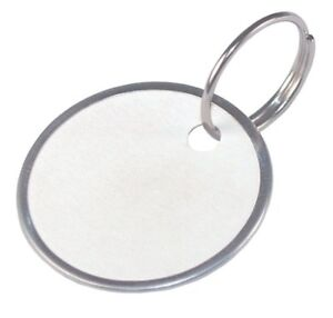 The Hillman Group 701331 4 Pack Paper Key Tag With Wire Ring Pack Of 25