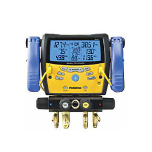 Fieldpiece Sman440 Four port Wireless Manifold With Clamps