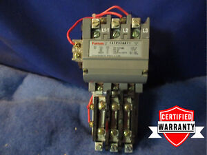 Furnas Size 2 Motor Starter 14fp32aa71 45a 200 208vac Coil 1 Year Warranty