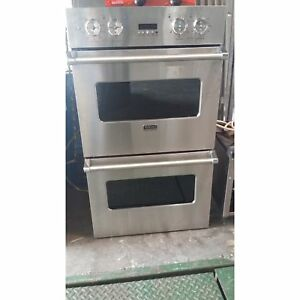 Viking Used 30 Double Stack Convection Oven vk ved01302ss 112216 u