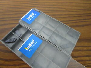 12 New Iscar Carbide Inserts Gip 1 57 0 15 Ic908