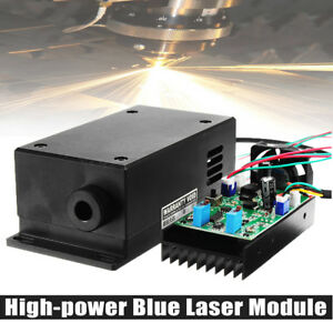 450nm 445nm 17w 17000mw Blue Laser Module High power Engraving Wood Metal goggle