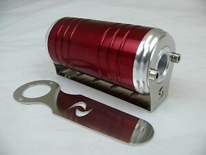 8 Orb 100 Micron Stainless Element Red S max Universal Inline Fuel Filter Fs