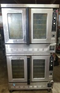Blodgett Zephaire Natural Gas Double Stack Convection Oven 30 Day Warranty