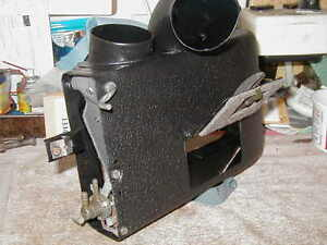 1955 56 57 T Bird Real Pder Coated Wrinkel Finish Complete Heater Box System