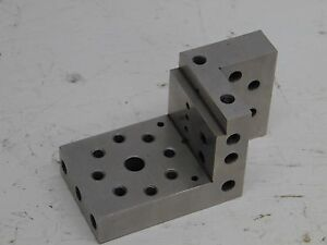 Compound Angle Plate Angle Machinist Precise Inspection Grinder Used Nice