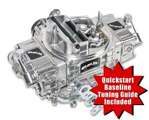 Quickfuel Br 67255 4 Barrel 650 Cfm Brawler Double pumper Carburetor E choke Bbl
