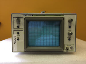 Leader Lbo 51ma Dc To 3 Mhz 8x10 Display 100 Mv Div X y Display For Parts