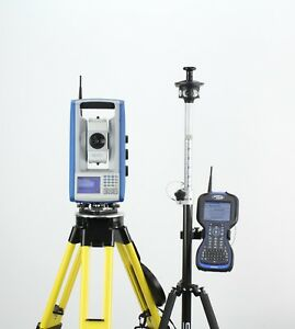 Trimble Spectra Precision Focus 30 3 Robotic Total Station Ranger 3 Survey Pro