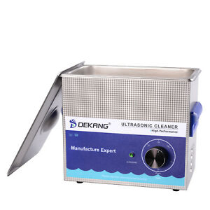 Dekang 3 2l Mechanical Timing Ultrasonic Cleaner Cleaning Watch Glass Jewelry