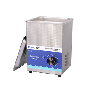 Dekang 1 3l Mechanical Timing Ultrasonic Cleaner Cleaning Watch Glass Jewelry