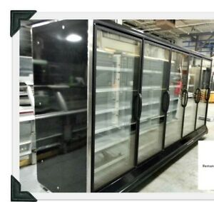 Hussmann 5 Glass Door Freezer Case Remote