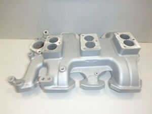 Offenhauser 3x2 1954 1955 1956 Olds Oldsmobile Aluminum Intake Manifold 4060