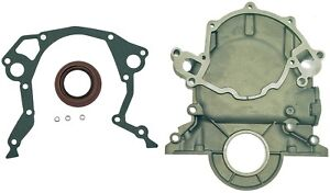 Timing Cover With Gasket And Seal V8 302 5 0l Silver 66 84 Ford Dorman 635 107
