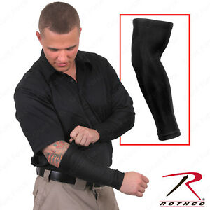 Rothco Black Tactical Cover Up Arm Sleeves Poly Spandex Arm Sleeve $15.99