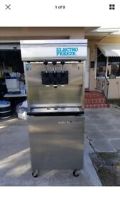 2 Electro Freeze 88tn Cab 232 230 Volt Ice Cream Machines sold As Pair