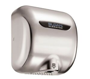 Sloan Ehd 501 ss 110 120 V Xlerator Automatic Hand Dryer Surface Mount