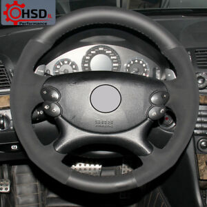 Suede Leather Steering Wheel Cover For Mercedes Benz E63 Amg 2006 2008 Cls 63