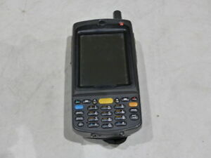 Motorola Wireless Handheld Barcode Scanner Mc75a6 p3cswrra9wr W Battery
