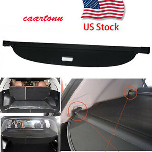 Retractable Tonneau Rear Trunk Cargo Cover Shield For 2017 2018 Kia Sportage