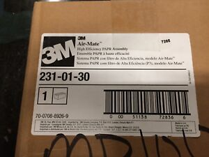 3m Papr Respirator 231 01 30 Includes Battery And Filter