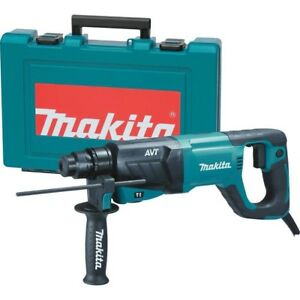 Hr2641 8 Amp 1 In Sds plus Concrete masonry Avt Hammer Drill With Hard Case