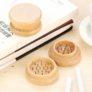 Dia 2 13 Wooden Tobacco Spice Herb Grinder Crusher Wood With 31 Nail Teeth