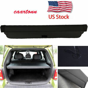 For Ford Escape 2008 2012 Trunk Cargo Cover Security Trunk Shade Shield Black