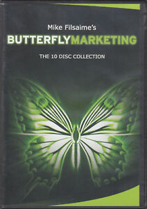 Mike Filsime s Butterfly Marketing 10 Dvds Internet Mrktg Success Secrets