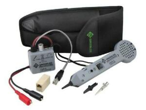 Tone Generator Probe Wire Test Toner Industrial Electric Circuits Tool Kit