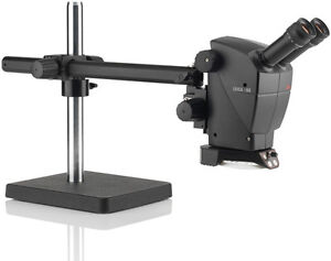 Leica A60 S Stereo Microscope On Boom Stand Brand New