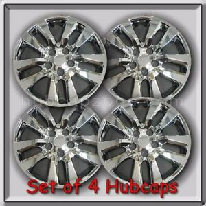 4 16 Chrome Nissan Altima Hubcaps Fits 2014 2015 Hub Caps Altima Wheel Covers