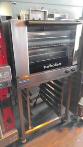Moffat Full Size Electric Convection Oven Stainless Steel Stand Mo e28m4