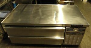 Continental 60 Equipment Stand Refrigerated Base With 2 Drawers Co dl60g 15