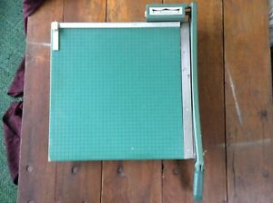 Big Vintage Premier Photo Materials Paper Cutter 19 Inch Scrap Booking Crafts