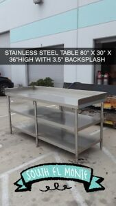 Stainless Steel Table 80 X 30 New