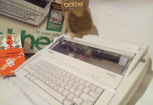 Brother Ml 100 Electronic Typewriter Word Processor Settlement