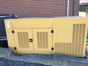 Caterpillar G75f1s Home Standby Natural Gas Generator 330 Hours excellent Cond
