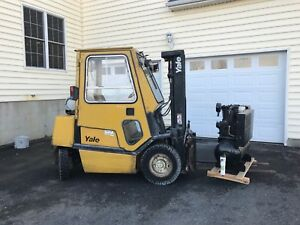 Forklift Yale 5000lb Closed In Cab