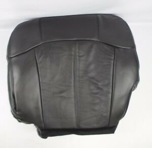 2000 2001 2002 Chevy Silverado 1500 2500 3500 Driver Bottom Seat Cover Dark Gray