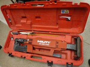 Hilti Dx 860 hsn Fully Automatic Powder actuated Tool Metal Decking Roofing