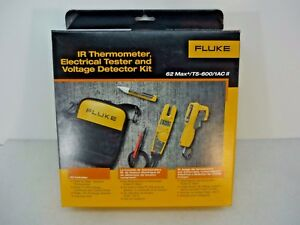 New Fluke T5 600 65max 1ac Ii Ir Thermometer Elec Tester Voltage Detector Kit