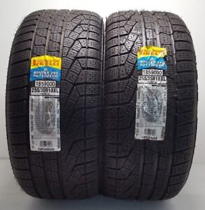 2 Brand New Run Flat 255 35r18 Pirelli Winter 240 Sottozero Series 2 Tires