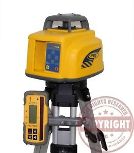 Spectra Precision Ll400 Self Leveling Rotary Laser Level Trimble Topcon