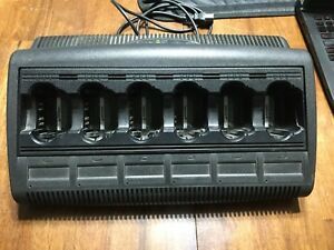 Motorola Impres 6 Unit Radio Rack Charger Wpln4121br Multi Bay V3 0 Unit 2