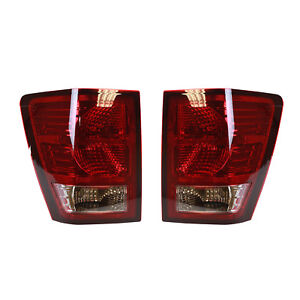 New Pair Of Tail Lights Fit Jeep Grand Cherokee 2007 2008 Ch2801172 Ch2800172