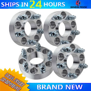 4 Pcs 5x4 5 To 5x5 For 1993 1998 Jeep Grand Cherokee Zj 1 25 Inch Wheel Adapters