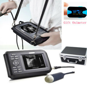 Portable Ultrasound Scanner Machine Handscan Animal Veterinary spo2 case Pet Us
